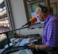 Orioles' Announcer Joe Angel's Well-Know Football Teammate